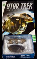 Star Trek The Official Starships Collection #45 Malon Export Vessel - Pre-Owned